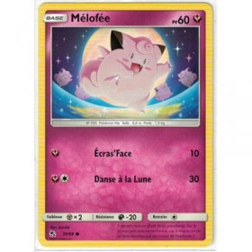 Carte Pokemon SL11.5 39/68 Melofee