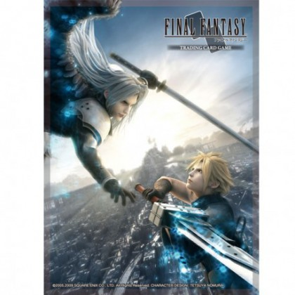 Protège cartes Final Fantasy VII Sephiroth & Cloud Strife x60