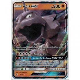 Carte Pokemon SL11.5 36/68 Onix GX