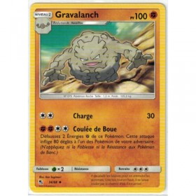 Carte Pokemon SL11.5 34/68 Gravalanch