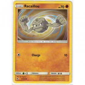 Carte Pokemon SL11.5 33/68 Racaillou