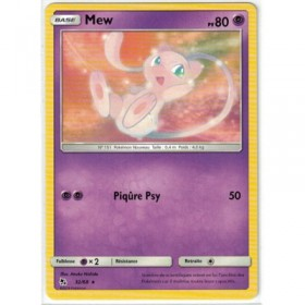 Carte Pokemon SL11.5 32/68 Mew