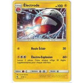Carte Pokemon SL11.5 22/68 Electrode