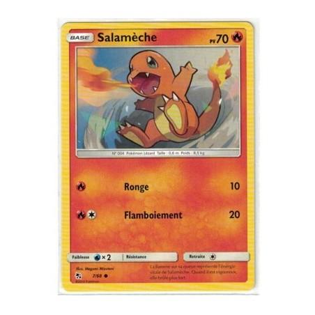 Carte Pokemon SL11.5 7/68 Salameche