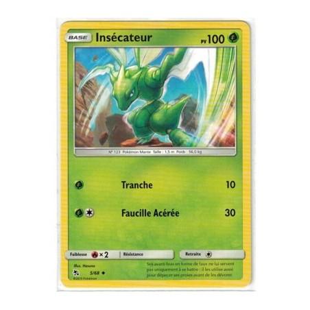 Carte Pokemon SL11.5 5/68 Insecateur