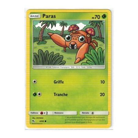 Carte Pokemon SL11.5 4/68 Paras