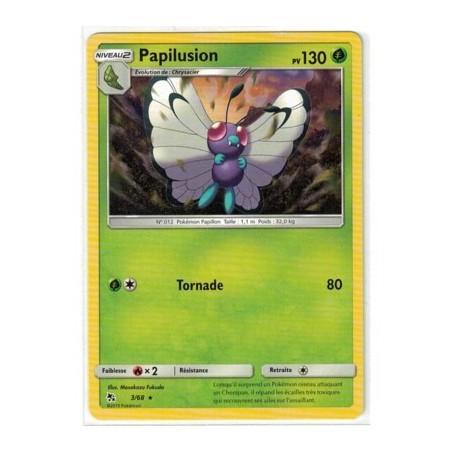 Carte Pokemon SL11.5 3/68 Papilusion