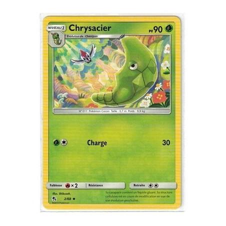 Carte Pokemon SL11.5 2/68 Chrysacier