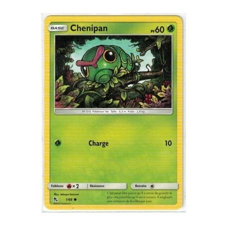Carte Pokemon SL11.5 1/68 Chenipan