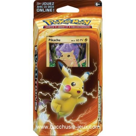 Pokemon Deck sous blister XY12 Evolution Pikachu