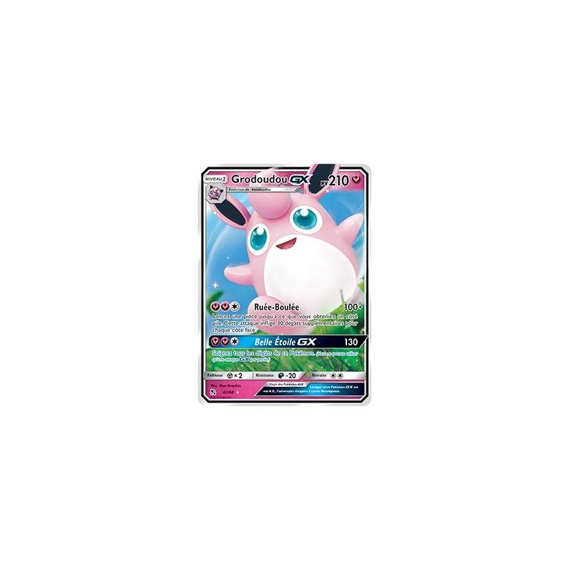 Carte Pokemon SL11.5 42/68 Grodoudou