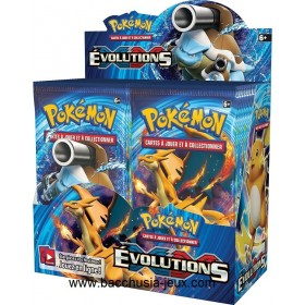 Pokémon Display XY12 Evolutions (36 boosters), neuf et scellé PokéBall