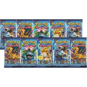Pokémon Lot de 10 boosters XY12 Evolutions