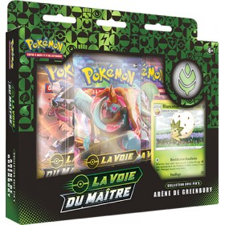 Pokemon Coffret Pin's EB03.5 La Voie du Maître - Arène de Greenbury