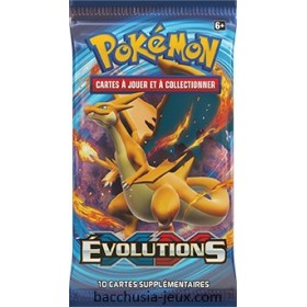 Pokémon Lot de 1 booster XY12 Evolutions
