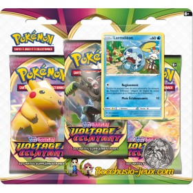 Pokemon Tripack EB04 Voltage Eclatant Larméléon