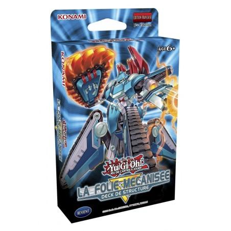Deck De Structure Yu-Gi-Oh! La Folie Mécanisée