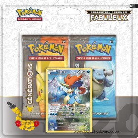 Duopack Generation Keldeo Collection Pokémon fabuleux 20 ans