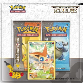 Duopack Generation Victini Collection Pokémon fabuleux 20 ans