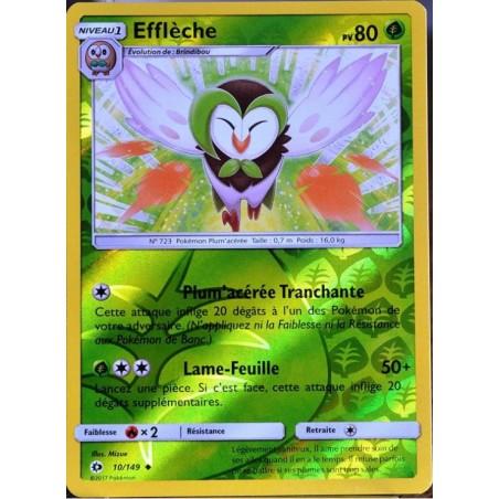 Carte Pokemon SL1 10/149 Effleche Reverse