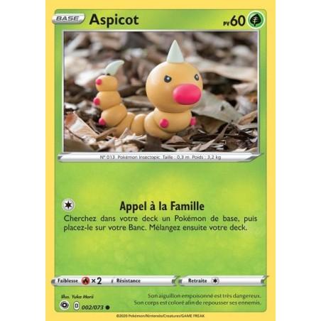 Carte Pokemon EB3.5 /73 Aspicot