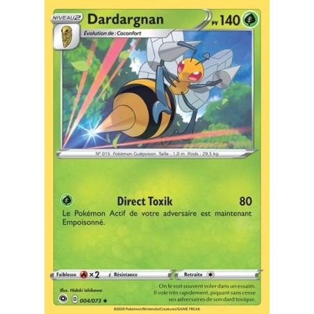 Carte Pokemon EB3.5 4/73 Dardargnan