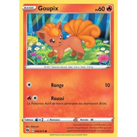 Carte Pokemon EB3.5 6/73 Goupix