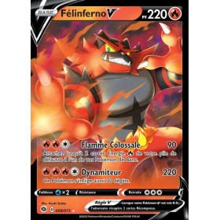Carte Pokemon EB3.5 8/73 Felinferno V