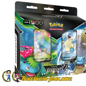 Pokemon Bundle Deck de Combat V - Tortank V et Florizarre V