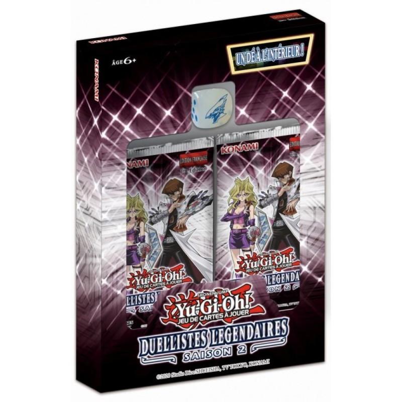 Coffret Yu-Gi-Oh! Duellistes Légendaires Saison 2