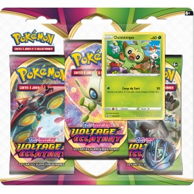 Pokemon Tripack EB04 Voltage Eclatant Ouistempo