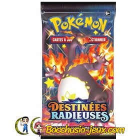 1 Booster Pokemon Destinees Radieuses EB4.5