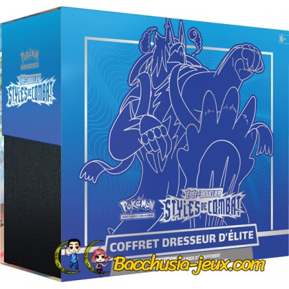 Pokemon Coffret ETB - Elite Trainer Box EB05 Styles de Combat- Shifours Mille Poings