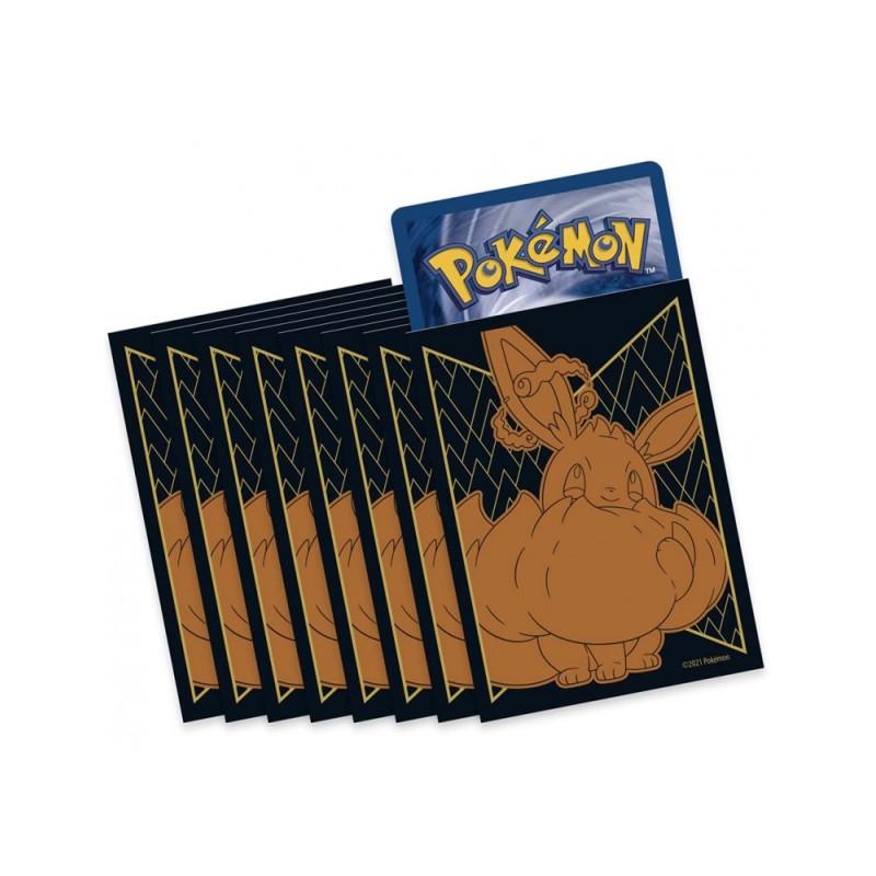Pokemon Sleeve x1 protège carte Evoli VMax ETB EB4.5