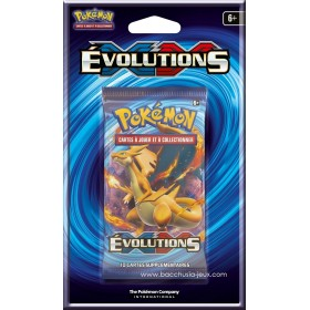 Pokémon 1 Booster sous blister XY12 Evolutions