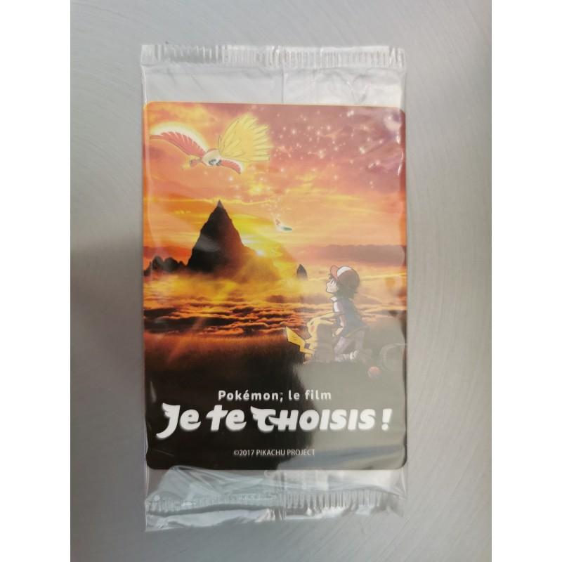 """Pokemon Paquet de carte du film """"Je te choisis"""""""