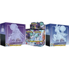 Pokemon Pack EB06 Display + ETB Cavalier d'Effroi + ETB Cavalier du Froid