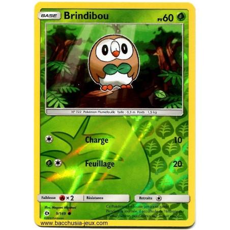 Carte Pokemon SL1 9/149 Brindibou Reverse