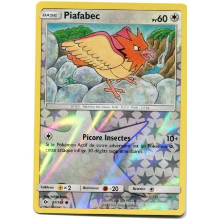 Carte Pokemon SL1 97/149 Piafabec reverse