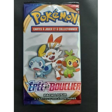 Pokemon Booster echantillon Epee et Bouclier EB01