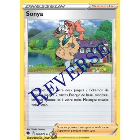 Carte Pokemon EB3.5 65/73 Sonya Reverse