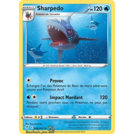 Carte Pokémon EB07 036/203 Sharpedo