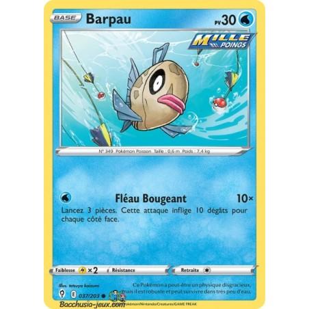Carte Pokémon EB07 037/203 Barpau
