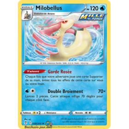 Carte Pokémon EB07 038/203 Milobellus