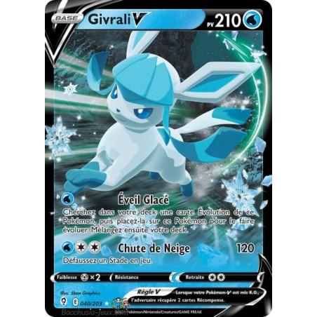 Carte Pokémon EB07 040/203 Givrali V