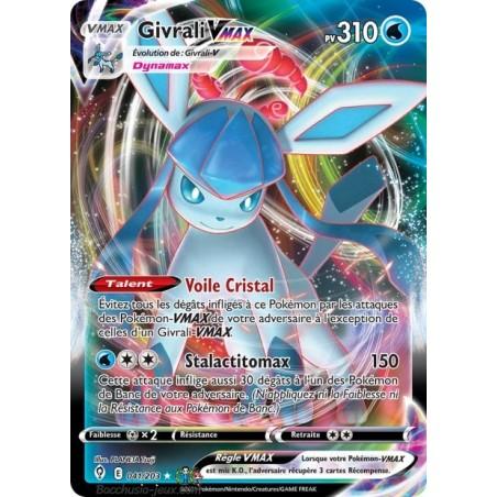 Carte Pokémon EB07 041/203 Givrali V Max
