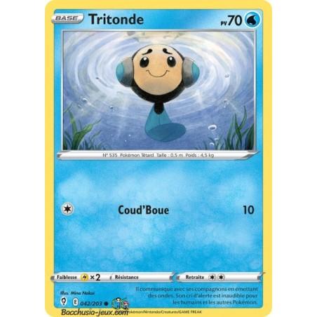 Carte Pokémon EB07 042/203 Tritonde