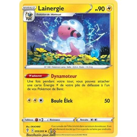 Carte Pokémon EB07 055/203 Lainergie