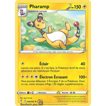 Carte Pokémon EB07 056/203 Pharamp