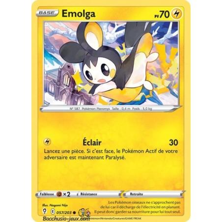 Carte Pokémon EB07 057/203 Emolga